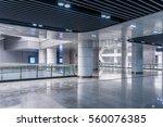 interior view of modern... | Shutterstock . vector #560076385