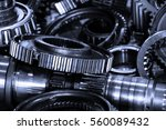 close up car engine  internal... | Shutterstock . vector #560089432