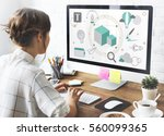 Stock photo design creative idea innovation technology 560099365