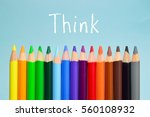 think text on background with... | Shutterstock . vector #560108932