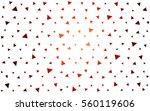dark red vector geometric... | Shutterstock .eps vector #560119606