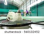 Badminton Courts With Badminto...
