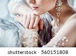 beautiful bridal | Shutterstock . vector #560151808