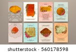 wedding invitation card or... | Shutterstock .eps vector #560178598