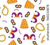 carnival pattern. vector...   Shutterstock .eps vector #560210878
