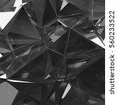 3d abstract rendering of... | Shutterstock . vector #560233522