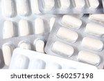 medical and vitamin pills.... | Shutterstock . vector #560257198