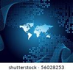 world map | Shutterstock .eps vector #56028253
