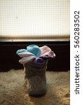 socks flowe | Shutterstock . vector #560283502