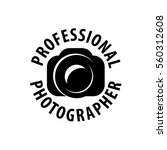 logo camera the photographer | Shutterstock .eps vector #560312608