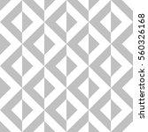 editable seamless geometric... | Shutterstock .eps vector #560326168