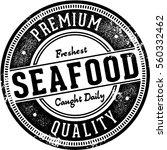 premium fresh seafood vintage... | Shutterstock .eps vector #560332462