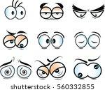 cartoon eyes | Shutterstock .eps vector #560332855