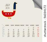 July 2011 Animals Calendar ...