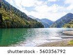 Moutain Lake Little Ritsa ...