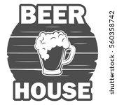 beer house template | Shutterstock .eps vector #560358742