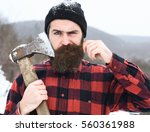 Frown Man Or Brutal Lumberjack...