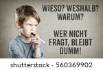 german set of questions for ... | Shutterstock . vector #560369902