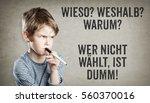 german set of questions ... | Shutterstock . vector #560370016