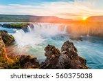 godafoss  myvatn  iceland. the...   Shutterstock . vector #560375038