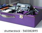 handmade case for tattoo machine | Shutterstock . vector #560382895