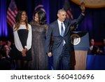 U.s. President Barack Obama Hi...