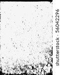 grunge border. vector.   Shutterstock .eps vector #56042296
