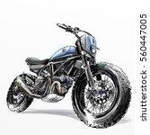 off road motorcycle poster...   Shutterstock . vector #560447005