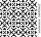 vector seamless pattern.... | Shutterstock .eps vector #560455612