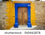 Colorful Door And Windows In...