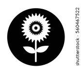 flower icon | Shutterstock .eps vector #560467522
