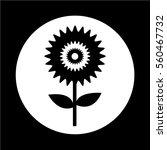flower icon | Shutterstock .eps vector #560467732