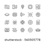 simple set of abstract... | Shutterstock .eps vector #560505778
