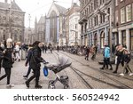 amsterdam the netherlands... | Shutterstock . vector #560524942