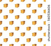 bread pattern. cartoon... | Shutterstock . vector #560536606