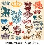 retro set | Shutterstock .eps vector #56053813