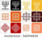 traditional ethnic indian... | Shutterstock .eps vector #560546818