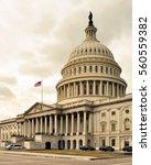 u.s. capitol  washington dc ... | Shutterstock . vector #560559382