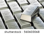 Nickel Ingots Background  3d...