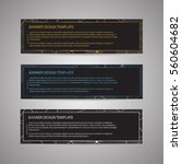templates for text with... | Shutterstock .eps vector #560604682