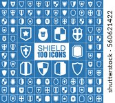 shield  security  protection ... | Shutterstock .eps vector #560621422