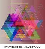 geographic vector pattern | Shutterstock .eps vector #560659798