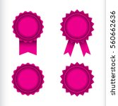 a set of four vector seals and... | Shutterstock .eps vector #560662636