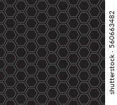 a seamless vector honeycomb... | Shutterstock .eps vector #560663482