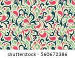 Pattern Floral Background