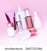 set of cosmetic cream. daily ...   Shutterstock . vector #560731546