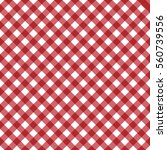 vector gingham seamless pattern ... | Shutterstock .eps vector #560739556