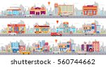 set stock vector illustration... | Shutterstock .eps vector #560744662