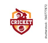 cricket team logo | Shutterstock .eps vector #560777872