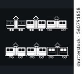 train icon | Shutterstock .eps vector #560791858